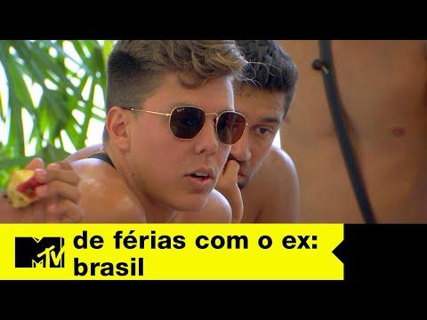 Gabriel interroga Sarah | De Férias com o ex Brasil Ep. 5