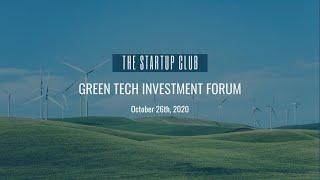Green Tech Investment Forum