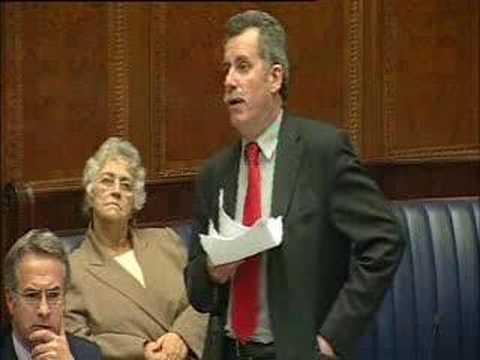 Northern Ireland Assembly - Alban Maginness Speech 25th Sept