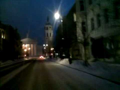 Weather in Vilnius, Lithuania, 2010-01-26