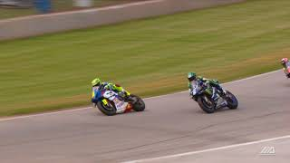 MotoAmerica Dunlop Championship at Road America Motul SuperBike Race 1 Highlights