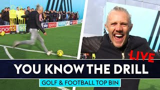 Football and Golf Top Bin Challenge! | You Know The Drill LIVE | Bullard, Seaman & Fitzpatrick