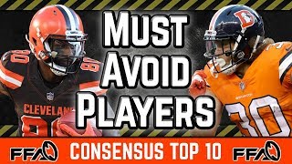 must-avoid-players-consensus-top-10-2019-fantasy-football