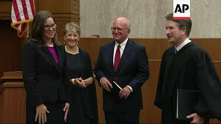 Kavanaugh Administers Oath to New Federal Judge