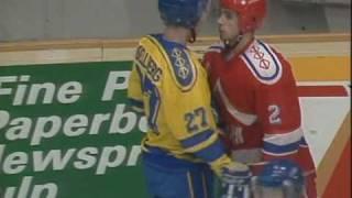 Tuffa tag från hockey-VM 1989-2000 (rough play)