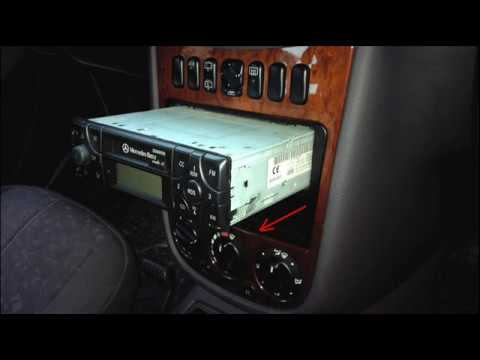 Autoradio mb becker 10 cc code eingabe doovi for Mercedes benz car stereo code