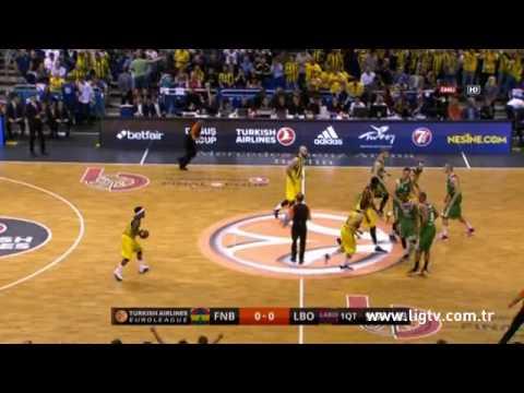 Fenerbahçe Ülker - Laboral Kutxa 88-77 [Final Four Yarı Final]