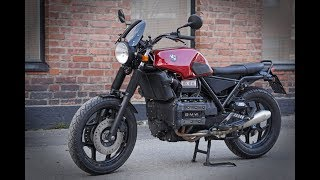 BMW K75 Street Tracker - the whole story in short