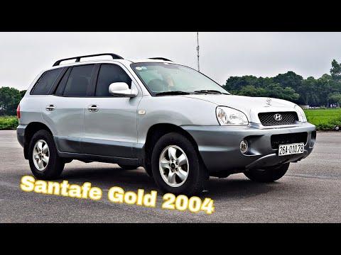 (ĐÃ BÁN) Hyundai Santafe Gold 2004 Máy Dầu 2.0 - Số Tự Động   option hiện đại
