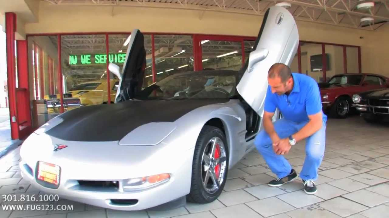Lambo Door 2000 Chevrolet Corvette Convertible For Sale