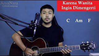 Download Chord Gampang (Karena Wanita Ingin Di Mengerti - Ada Band) by Arya Nara (Tutorial Gitar)Untuk Pemula
