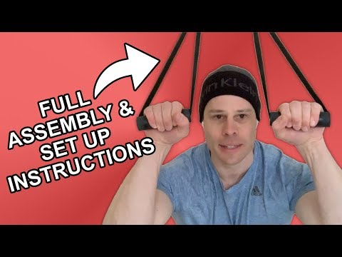 How to Make Your Own Grind Straps Portable Calisthenics Home Gym