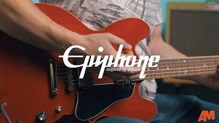 Epiphone Inspired by Gibson: Classic ES Series