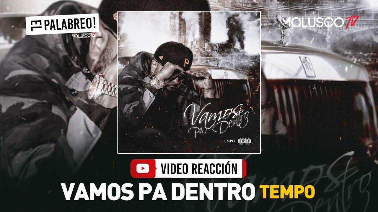 Tempo saca tema nuevo VAMOS PA DENTRO #VideoReaccion #ElPalabreo 🎧