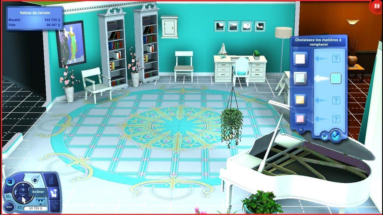 Salon De Bain Moderne sims 3 : construction d'un salon vintage et salles de bain moderne + avenir  de la chaîne !