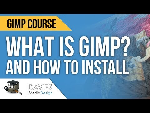 Intro to GIMP and How to Download & Install