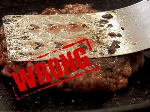 Get You're Doing It All Wrong - How to Make a Burger Snapshots