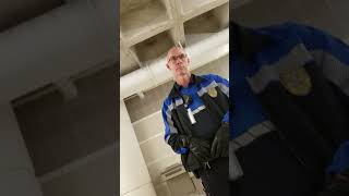 cops harassing me at Minnesota airport after getting off a plane and waiting for a car rental to ope
