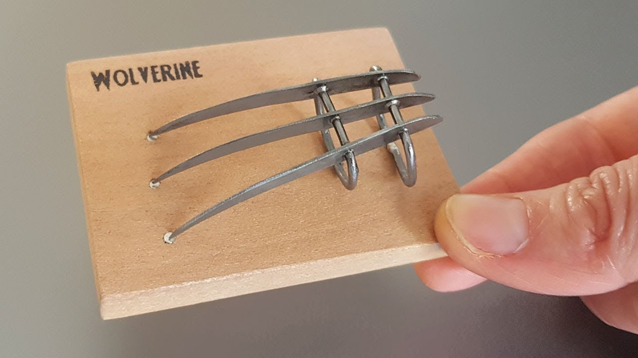 AWESOME Mini Wolverine Claws Build