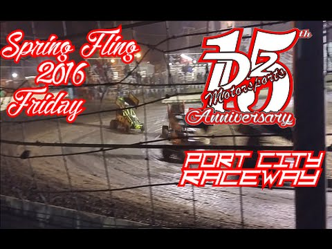 D2 Motorsports - Port City Raceway - Spring Fling - Lost Friday Night Footage