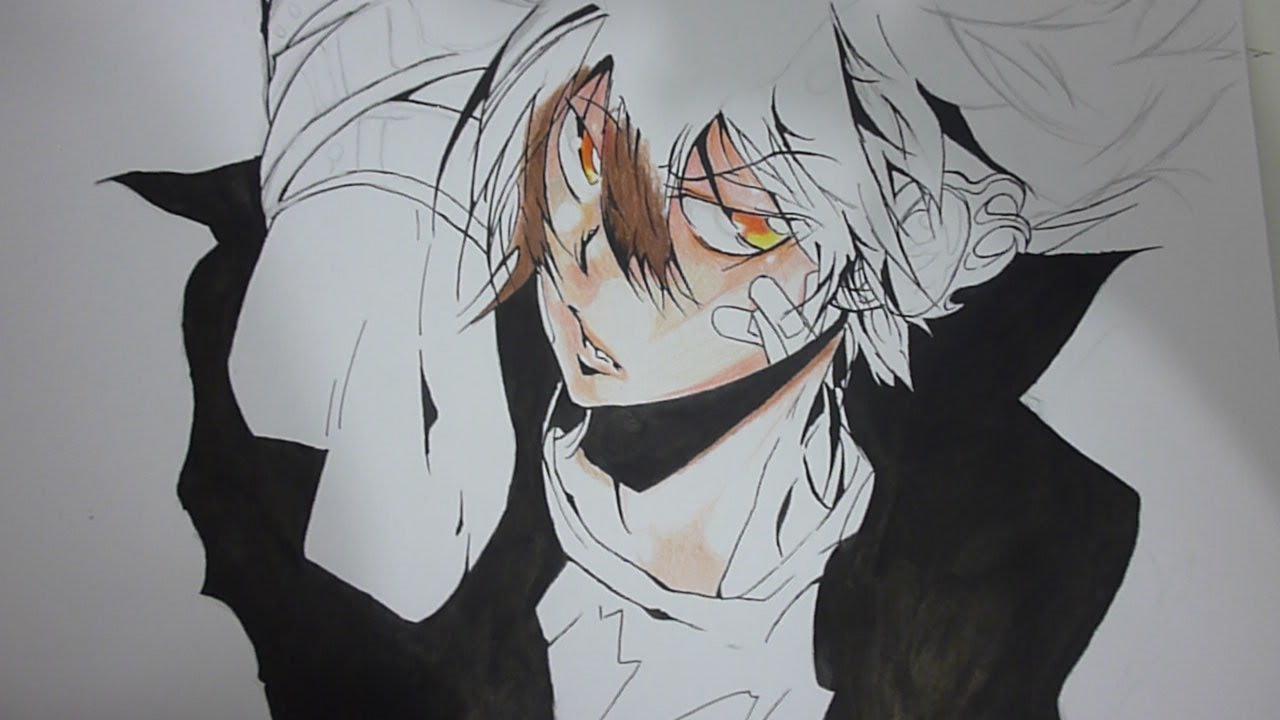 how to draw sawada tsunayoshi