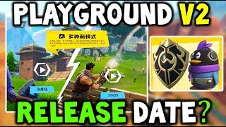 'NEW' FORTNITE PLAY GROUND COMING BACK TOMORROW ' 'NEW' BACK BLING ' SKINS (CHINA FORTNITE,We Games)