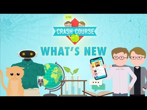 What's new with Crash Course