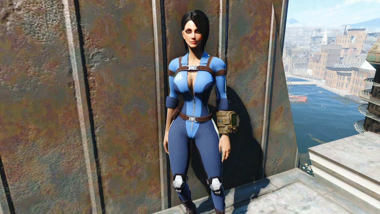 Skyrim Fall Wallpaper Hd Fallout 4 Mod Review 8 Quot Slooty Vault Suit Quot Xbox One
