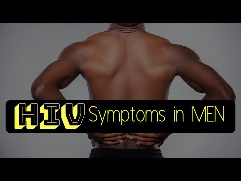 HIV Symptoms in Men Early Signs