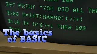 The Basics Of Basic, The Programming Language Of The 1980s.