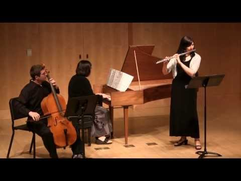 Laurel Maurer, Telemann Sonata in F minor for Flute and Harpsichord