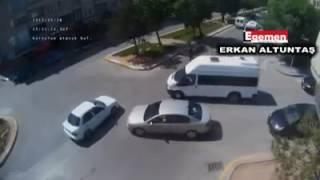 Aksaray'da Mobeseye Takılan Trafik Kazaları