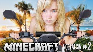 MI NUEVA MOTOCICLETA | Minecraft: Nostalgia (2) - lele