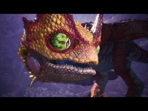 Monster Hunter World: Iceborne  Coral PukeiPukei Boss Fight (Solo / Hammer)