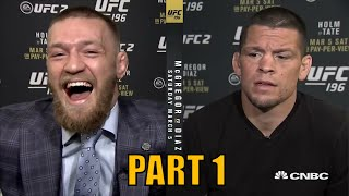 BEST MMA TRASH TALK - PART 1 - Funniest UFC Trash Talk