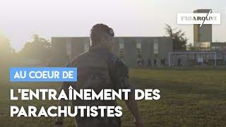 Le *vrai* entraînement des parachutistes français
