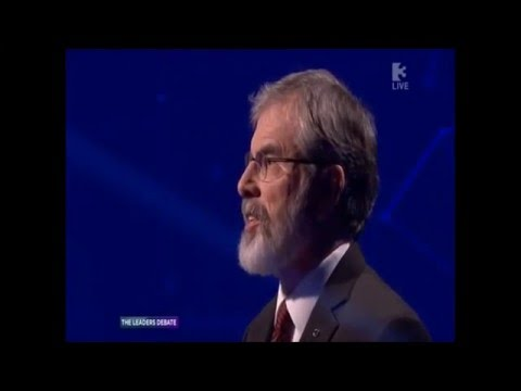 '1st' Leaders Debate 2016 (Ireland)