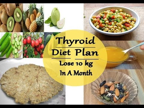 diet chart for hypothyroid patients in india