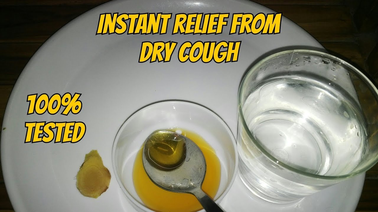 how to stop a dry cough instantly