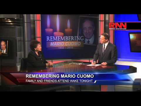 Remembering Mario Cuomo  Family and Friends Attend Wake Tonight