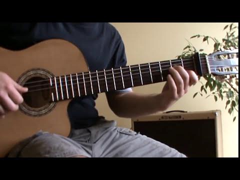 Craig David - Unbelievable guitar lesson with TAB (instrumental version)