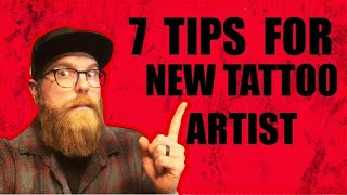 7 TIPS ✅ FOR NEW TATTOO ARTIST