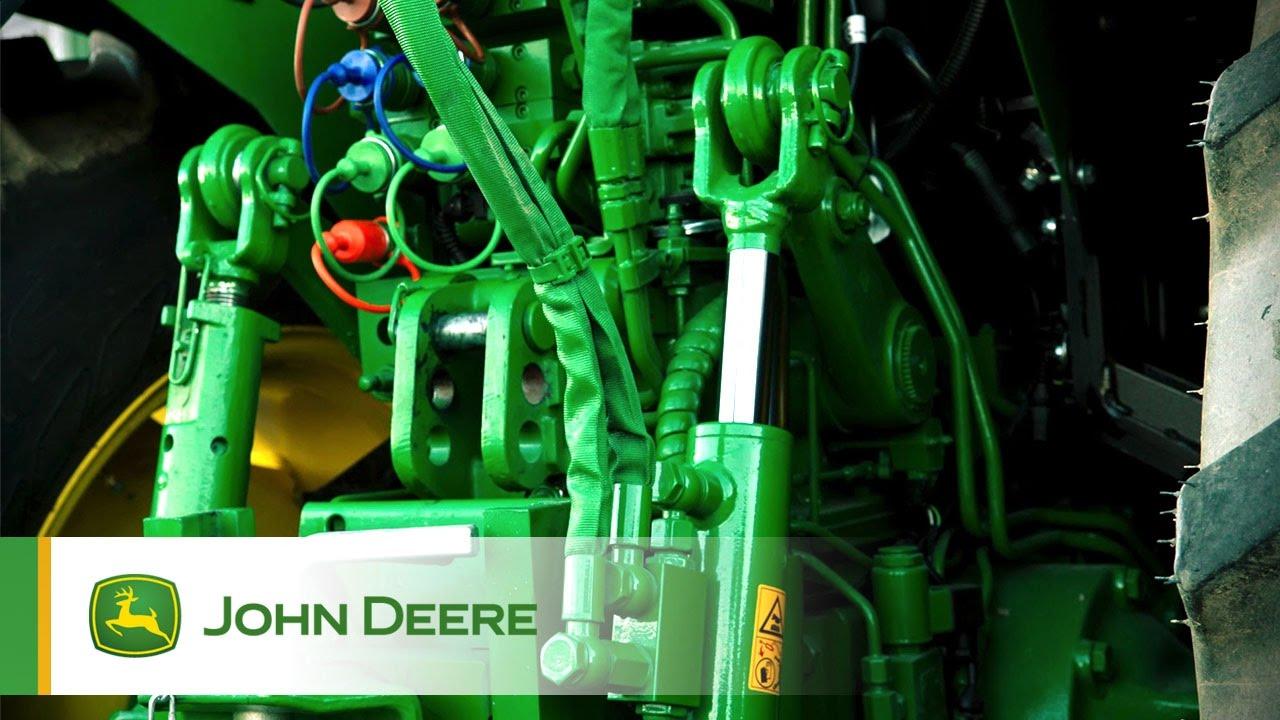John Deere 5G Spezialtraktor Hydraulik  YouTube