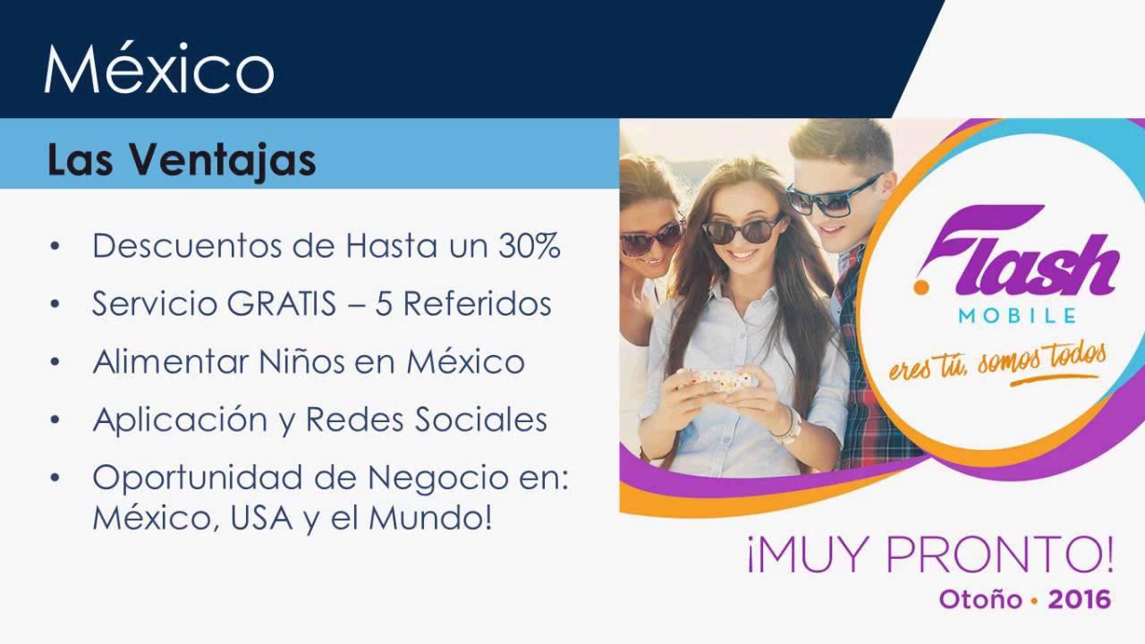 Acn flash mobile llega a m xico informaci n de for Mexico mobel