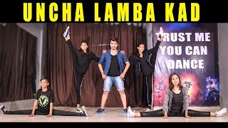 uncha lamba kad dance performance | Bollywood Hiphop dance step | Vicky patel choreography