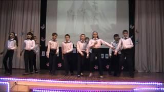 Концерт на День открытых дверей в школе 1034 города Москвы