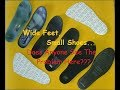 BIG-FOOT Wide Feet Shoe Conspiracy - 'Insoles' (; There's Trouble Afoot ;)