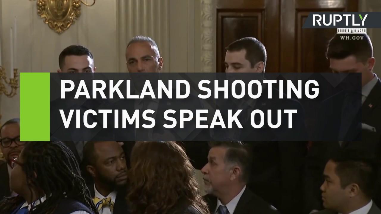 Parkland shooting victims speak out