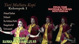 "Tari toraja ""MALLATTU KOPI"" Seni tari 2016 Universitas Negeri Makassar"
