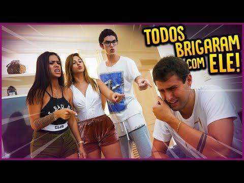 TODOS BRIGARAM COMIGO E EU CHOREI!! - DIÁRIO DE ADOLESCENTE #43 [ REZENDE EVIL ]